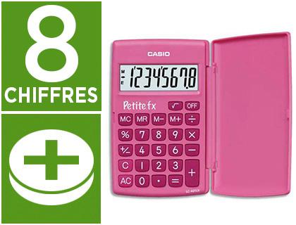CASIO PETITE FX ROSE 8 CHIFFRES