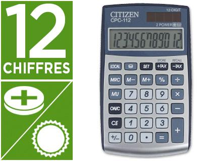 CITIZEN CPC-112 GRIS 12 CHIFFRES