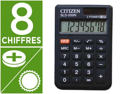 CITIZEN SLD-200N 8 CHIFFRES
