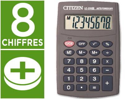 CITIZEN LC-210N 8 CHIFFRES