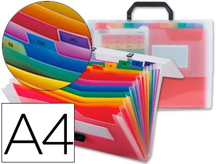 CLASSEUR SÉRIE SPECTRALIFE A4 26 COMPARTIMENTS