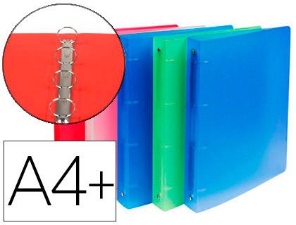 CHROMA A4+ 4 ANNEAUX 30MM PACK DE 10 ASSORTIS