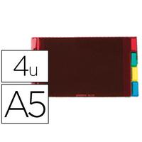 ELBA PVC CRISTAL A5 4 TOUCHES