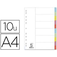 Q-CONNECT CARTE A4 10 TOUCHES