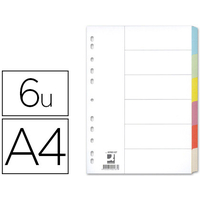 Q-CONNECT CARTE A4 6 TOUCHES