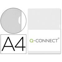 Q-CONNECT POCHETTE COIN ECO INCOLORE A4