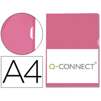 Q-CONNECT POCHETTE COIN ECO ROUGE A4