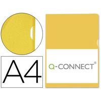 Q-CONNECT POCHETTE COIN ECO JAUNE A4