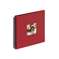 WALTHER ALBUM PHOTOS SPIRALE ROUGE 300x300mm