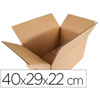 Q-CONNECT CARTON SIMPLE CANNELURE 40x29x22cm