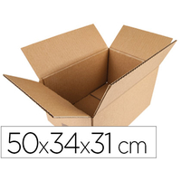 Q-CONNECT CARTON SIMPLE CANNELURE 50x34x31cm