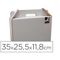 Q-CONNECT BOITE PORTE-DOCUMENTS 35x11.8x22.5cm