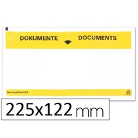 ENVELOPPES PORTE-DOCUMENTS 225X122MM