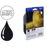 BROTHER LC1100BKBP2 BIPACK