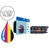 BROTHER LC123VALBP MULTIPACK