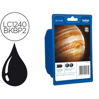 BROTHER LC1240BKBP2 BIPACK