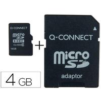 Q-CONNECT CARTE MICRO SDHC 4GB