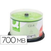 Q-CONNECT CD 700MB TOUR DE 50