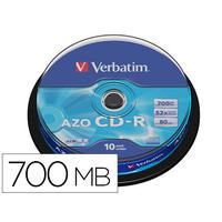 VERBATIM CD-R AZO TOUR DE 10