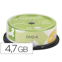 Q-CONNECT DVD-R 4.7Gb TOUR DE 25