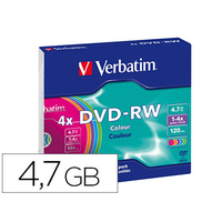 DVD-RW AZO REINSCRIPTIBLE BOITE DE 5