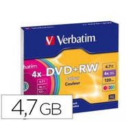 DVD+RW AZO REINSCRIPTIBLE BOITE DE 5