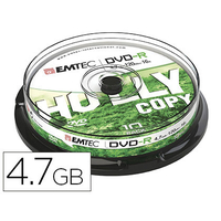 EMTEC DVD-R BOITE DE 10