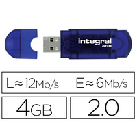 INTEGRAL CLÉ USB EVO 2.0 4Gb