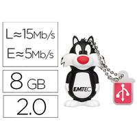 EMTEC CLÉ USB 3D GROMINET 2.0 8Gb