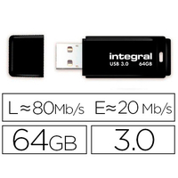 INTEGRAL CLÉ USB NEON 3.0 64Gb ORANGE