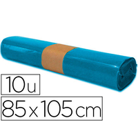 SACS BLEU 100L PACK DE 10