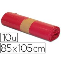 SACS ROUGE 100L PACK DE 10