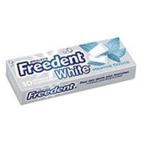 FREEDENT WHITE MENTHE DOUCE 10 DRAGÉES