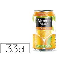 MINUTE MAID ORANGE BOITE 33CL