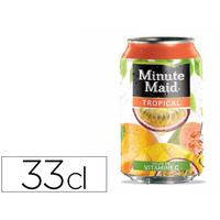 MINUTE MAID TROPICAL BOITE 33CL