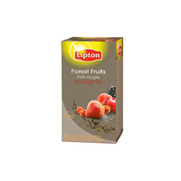 LIPTON THÉ FRUITS ROUGES 25 SACHETS