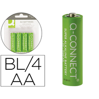 Q-CONNECT PILE AA/LR06 PACK DE 4