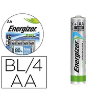 ENERGIZER PILES ECO ADVANCED AA/LR06 PACK DE 4