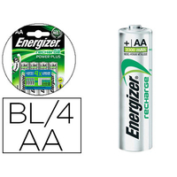 PILES RECHARGEABLES POWERPLUS AA/LR06 PACK DE 2