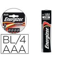 ENERGIZER PILES ALKALINE POWER AAA/LR03 PACK DE 4