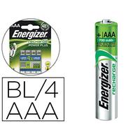 ENERGIZER PILES RECHARGEABLES POWERPLUS AAA/LR03 PACK DE 4