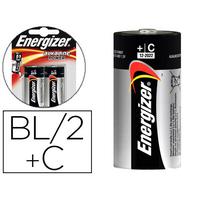 ENERGIZER PILE ALKALINE POWER LR14 C PACK DE 2