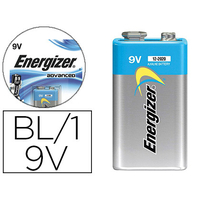 ENERGIZER PILE ALCALINE ADVANCED 6LR61 9V