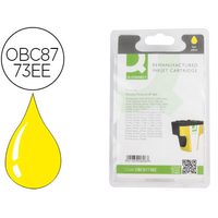 COMPATIBLE HP 363 JAUNE