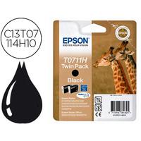 EPSON GIRAFE T0711H NOIR x2