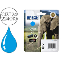 EPSON ÉLÉPHANT T2422 CYAN