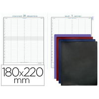 BARBARA JOURNAL 22 BROCHÉ 180X220MM ASSORTIS