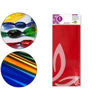 LIDERPAPEL PAPIER CELLOPHANE ROUGE