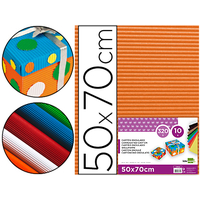 CARTON ONDULÉ 320G ORANGE