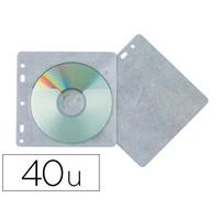 POCHETTES PERFORÉES POUR CD/DVD